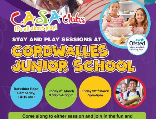Stay and Play Sessions at Cordwalles Junior School
